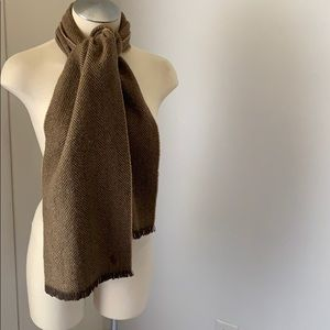 RL POLO Wool Herringbone Scarf